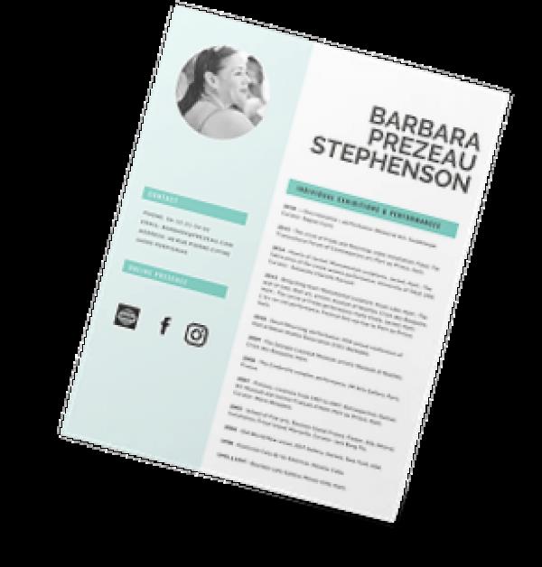 Barbara Prezeau Steohenson CV